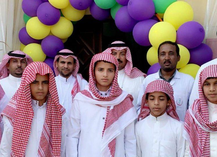 """بالصور مركز صحي الضويحي بـ محافظة املج ينظم احتفاليه """" بصحتك اجمل """""""