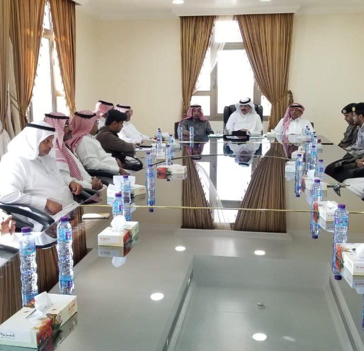 لجنة الدفاع المدني الفرعية باملج تضع الخطط للموسم الحالي