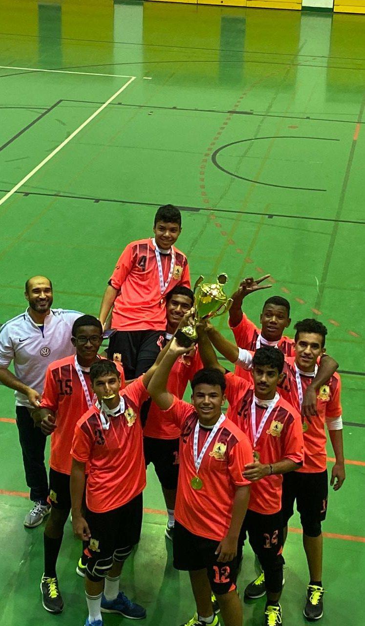 نادي الحوراء بأملج بطل منطقة تبوك لكرة الطائرة  لدرجة الشباب