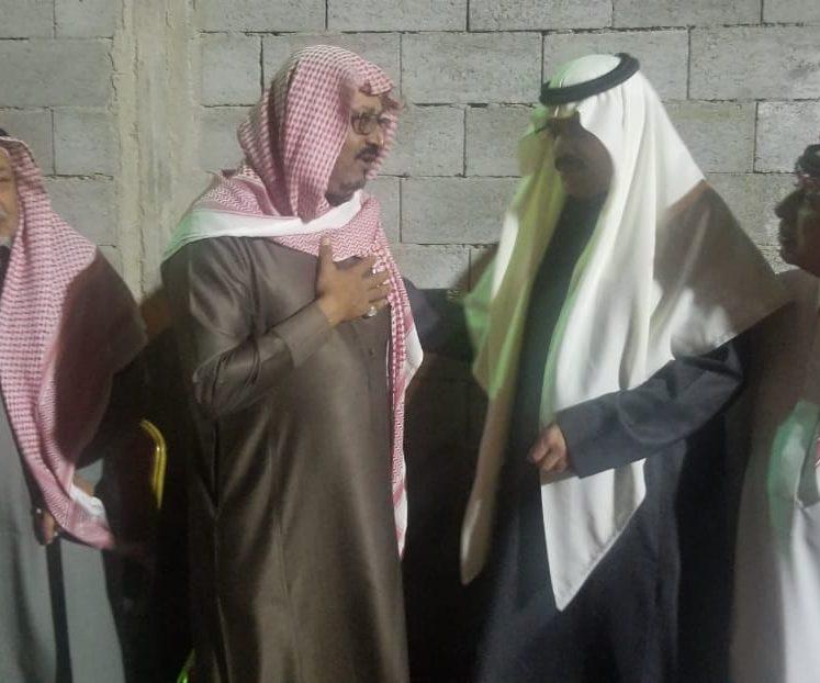 محافظ املج يواسي رئيس مركز شثاث