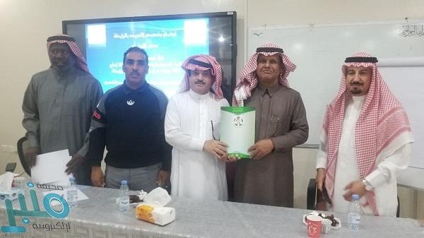الاستاذ مرضي سلمان الفايدي رئيساً لرابطة دوري احياء املج