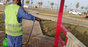 بلدية أملج تعزز إجراءاتها الوقائية للحد من انتشار فيروس كورونا