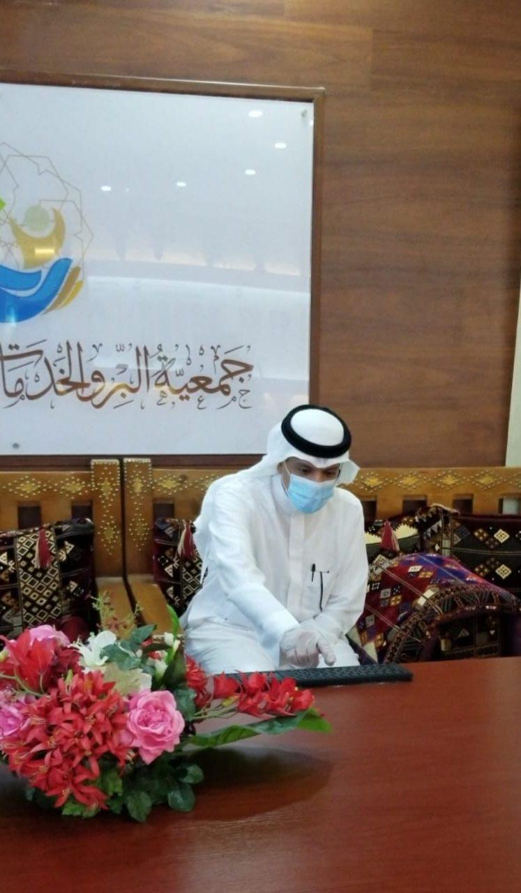 محافظ أملج زياد البازعي يدشن مبادرة  ( غذاؤنا واحد )