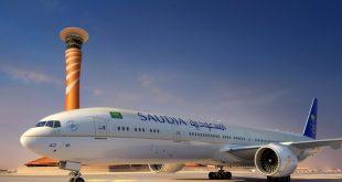 """""""الخطوط السعودية"""" تطبِّق جملة من الإجراءات الوقائية أثناء تشغيل الرحلات الداخلية"""