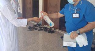 جوامع ومساجد محافظة أملج تستقبل المصلين لصلاة الجمعة وسط تطبيق الإجراءات الاحترازية