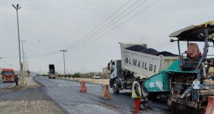 بلدية أملج تبدأ أعمال الصيانة في شوارع المحافظة