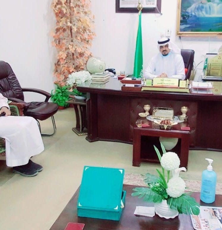 رئيس مركز الشبحة يستقبل رئيس بلدية الشبحة المعيّن حديثاً