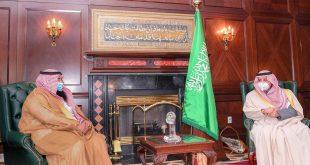 أمير منطقة تبوك يستقبل معالي نائب وزير الصناعة والثروة المعدنية