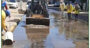 بلدية أملج ونجاح خطة تصريف مياه الأمطار