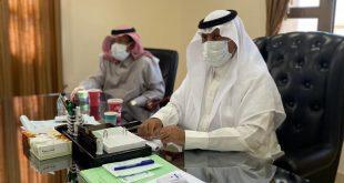 محافظ أملج يلتقي رئيس لجنة التنمية الإجتماعية ورئيس شركة ماسة