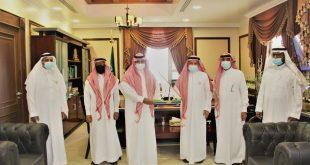 محافظ املج يستقبل رئيس مجلس الجمعيات الأهلية بمنطقة مكة المكرمة
